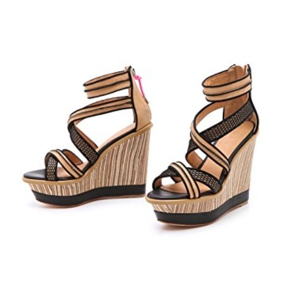L.A.M.B. Shoes - L.A.M.B Wedge Sandal SZ 7.5